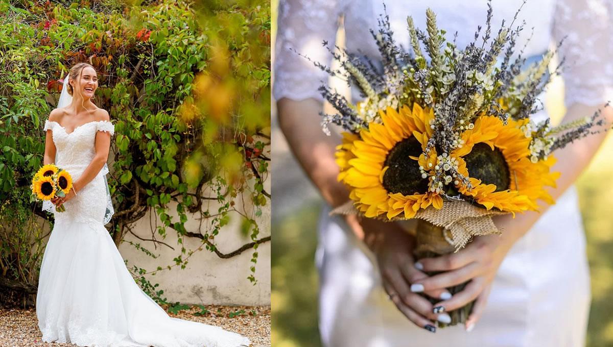 10 fotos inspiradoras para o seu Buquê de Girassol